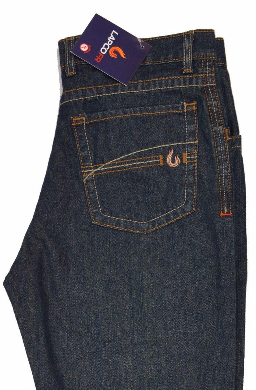 5b6b3a552edf LAPCO FR Modern Jeans 100% Cotton 10oz. - Veteran Welding Supply