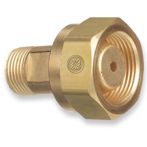 "Superior Regulator Inlet Nut /& Nipple 3"" CGA-510 Acetylene Propane"
