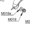 M018a Washer - Black - Set of 2 | Vittorazi Moster 185