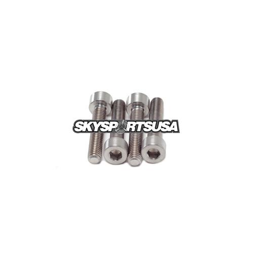 MF085a Titanium bolts 5 x 25 mm Tcei DIN 912 (Set of 4) | Vittorazi Moster Factory