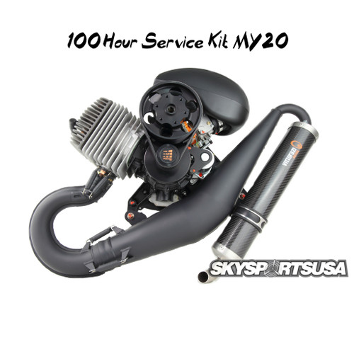 100hr Maintenance Kit MY20 | Vittorazi Moster 185