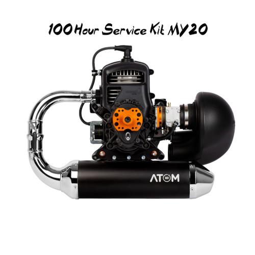 100hr Maintenance Kit MY20 | Vittorazi Atom 80