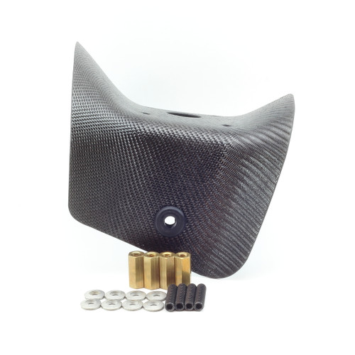 Extra Cooling Carbon Fiber Shroud - Top Mount / Vittorazi Moster 185