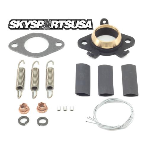 ME142 *Kit* Exhaust Flange | Vittorazi Moster 185 Plus Dual Start