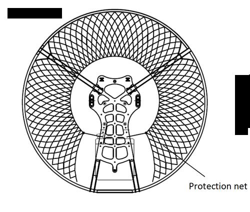 Yooda Replacement Cage Netting - Silver   SkySportsUSA