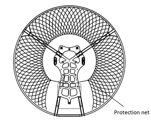 Yooda Replacement Cage Netting - Black   SkySportsUSA