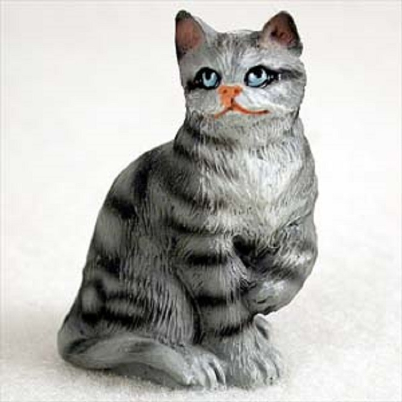Shorthaired Silver Tabby
