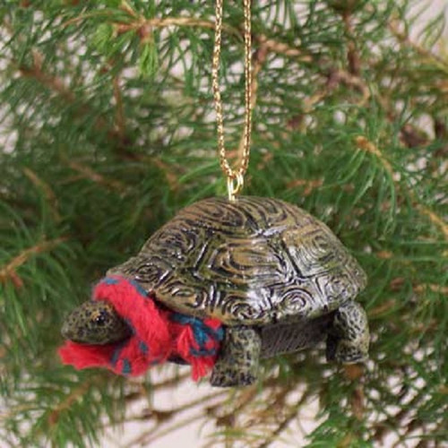 turtle holiday ornament