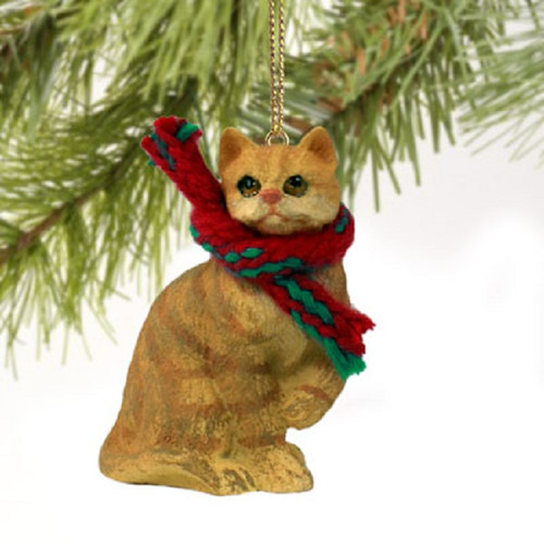 red shorthaired themed ornament