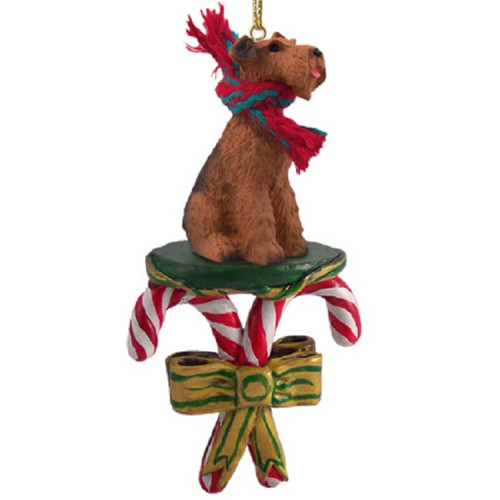airedale candy cane