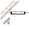 Diode LED DI-KIT-24V-BC2CV60-3000 200 Series Blaze Basics LED Tape Light Kit 3000K 24V