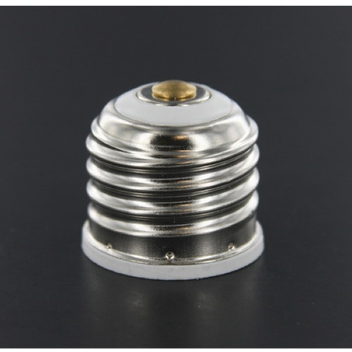 LH0805 E11 mini-candelabra base adapter reduces size of E26/E27 medium base lamp holder/socket