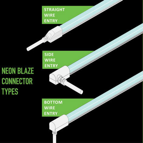 Diode LED DI-NB-96M-CNCT Neon Blaze Male Connector 96 inch Lead Dual Compatibility