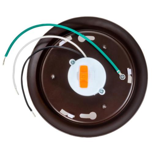 Topaz 70768 SDL4/8W/BZ/D/CTS-46 8 Watt 4 Inch Bronze LED Surface Mount Disk Multi CCT 120V