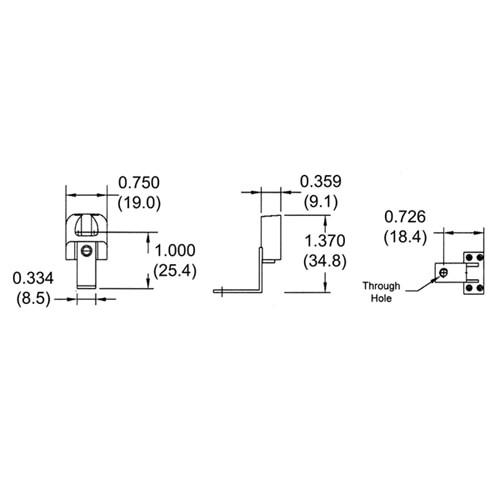 LH0013 Linear fluorescent T5 miniature bipin polycarbonate lamp holder/socket