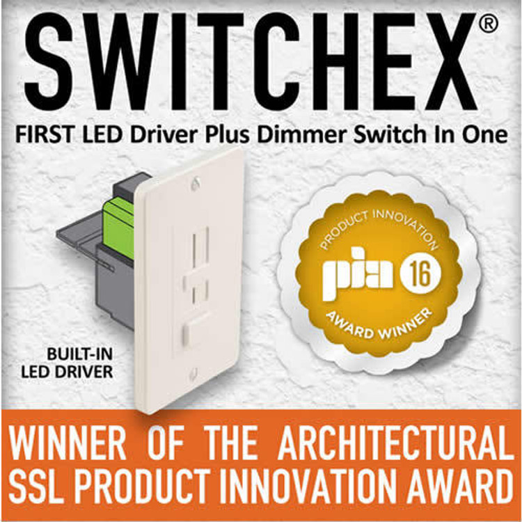 Diode LED DI-24V-SE-100W 100 Watt Switchex Driver and Dimmer Switch 24V