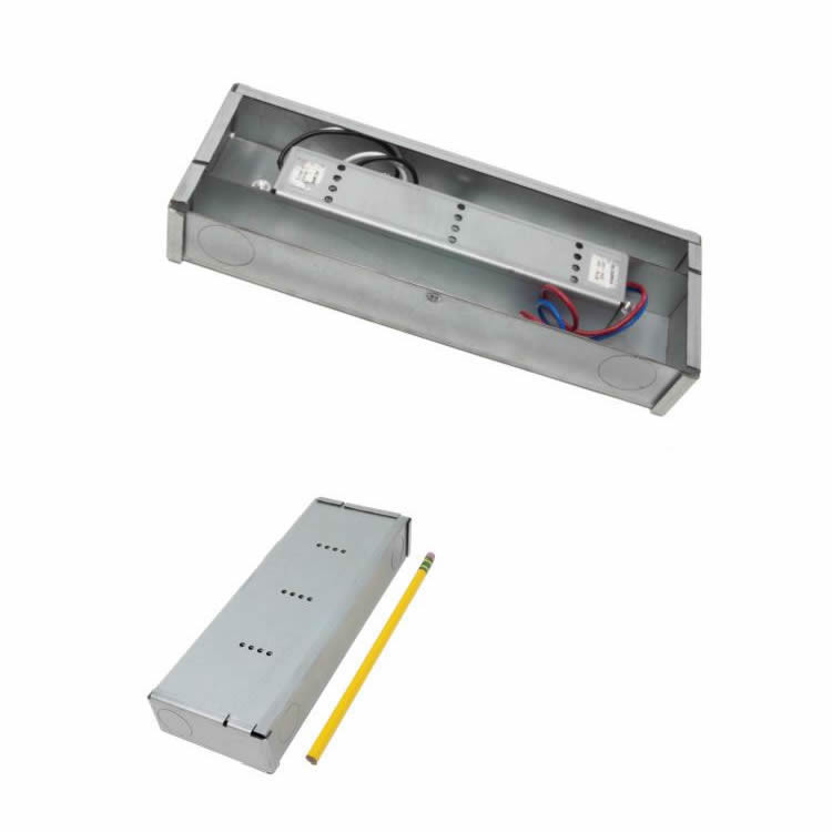 Diode LED VLM60W-12-LPM 60 Watt Constant Voltage LED Driver and Lo-Pro Mini Jbox Combo 12V DC