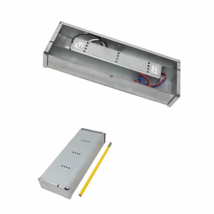 Diode LED VLM100W-24-LPM 100 Watt Constant Voltage LED Driver and Lo-Pro Mini Jbox Combo 24V DC