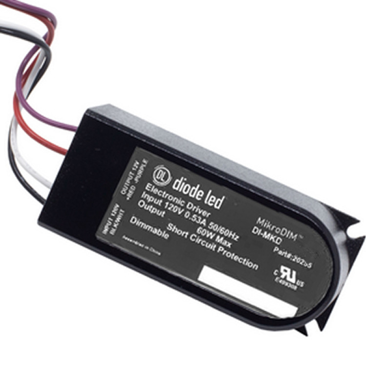 Diode LED DI-MKD-24V60W 60 Watt MikroDim Electronic Dimmable Driver 24V