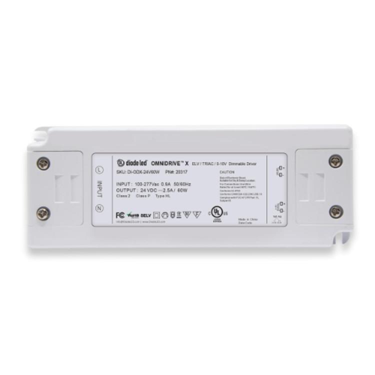 Diode LED DI-ODX-24V60W 60 Watt Omnidrive X Dimmable LED Driver 24V DC