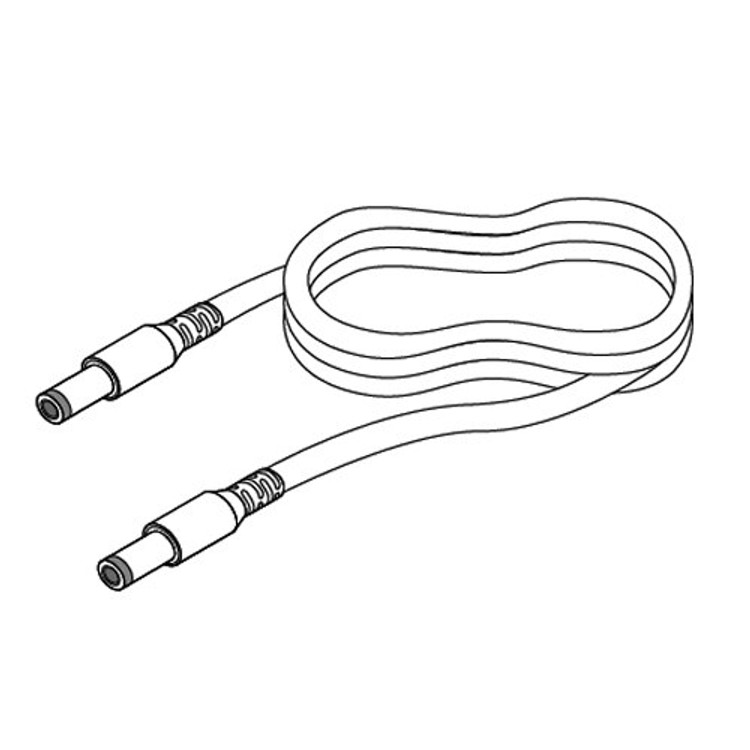 Diode LED DI-PVC2464-DL39-EXT-M-M-W White Male DC to Male DC Extension Cable.