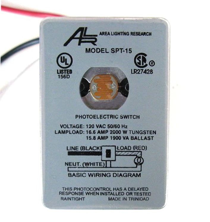 Area Lighting Research 2000 Watts Photocell