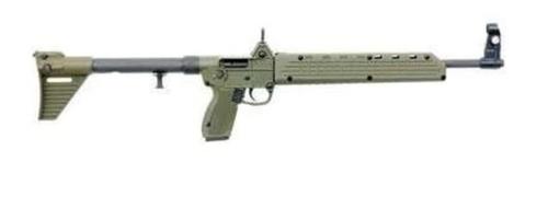 Kel-Tec Sub-2000 9mm Glock Magwell 17rds Green SUB-2K9G17BG17
