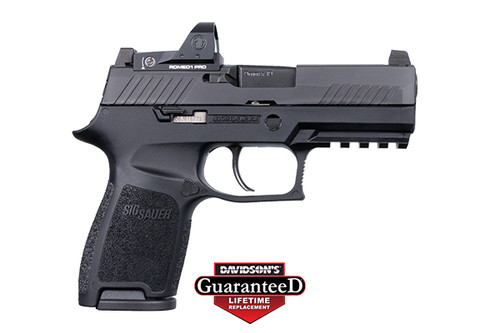 Sig Sauer P320C RXP Compact 9mm 15rd Romeo1 Pro Optic 798681623938