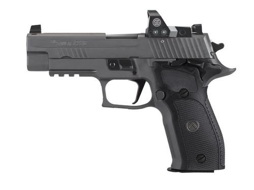 "Sig Sauer P226 Legion SAO 9mm 4.4"" Gry w/ Romeo1 Pro Reflex Opt 3 15rd E26R-9-LEGION-SAO-RXP"