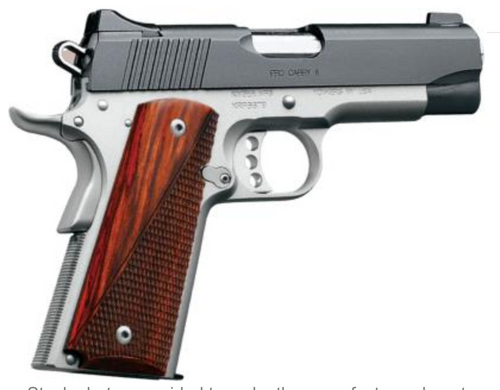 "Kimber Pro Carry II .45acp 4"" 7rd Two-Tone 3200320"