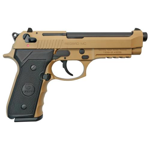 "Grison Regard MC 9mm 4.9"" FS 1 18rd FDE 390084"