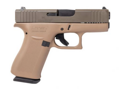 "Apollo Custom Glock 43x 9mm 3.41"" FS 2 10rd DDE ACG-00862"