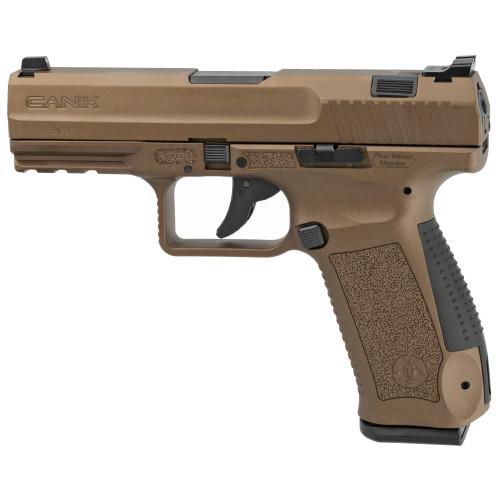 "Canik TP9DA 9mm 4.07"" 2 18rd Burnt Bronze HG4873B-N"