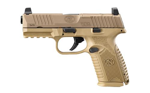 "FN 509 MRD 9mm 4"" SHFS 2 15rd FDE 66-100741"