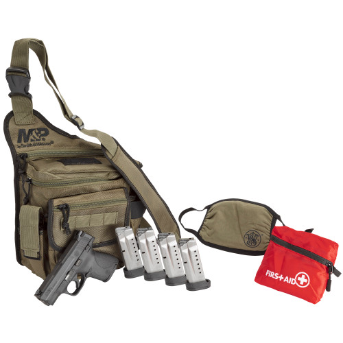 """Smith & Wesson Shield 1.0 9mm 3.1"""" 1 7rd 1 8rd Bug Out Bag 13383"""