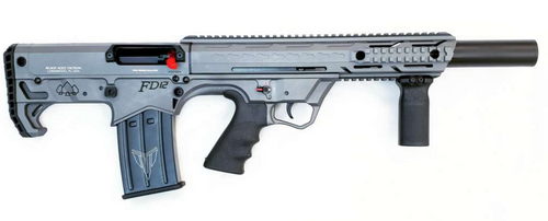 Black Aces Pro Series Bullpup 12ga LH Sniper Gray