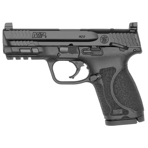 "Smith & Wesson M&P M2.0 Compact 9mm 4"" H3D TS 2 15rd 13144"