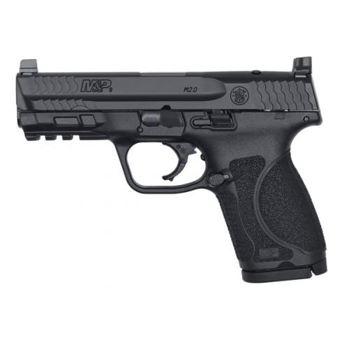 "Smith & Wesson M&P 2.0 Compact 9mm 4"" TWD Opt Rdy 2 15rd 13143"