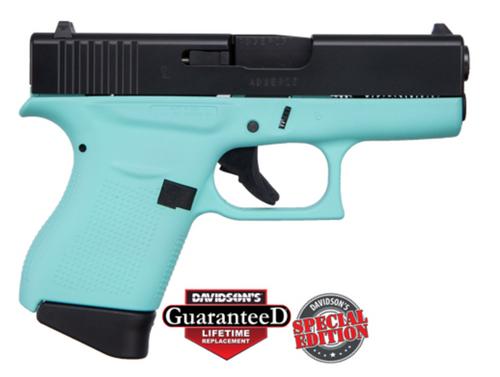 "Apollo Custom Glock 43 9mm 3.39"" FS 2 6rd REB ACG-00835"
