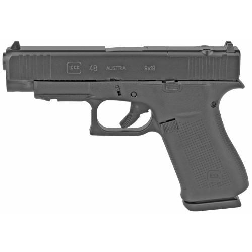 """Glock 48 MOS 9mm 4.17"""" FS 2 10rd PA4850201FRMOS"""