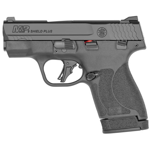 """Smith and Wesson M&P Shield Plus 9mm 3.1"""" FS TS 1 10rd 1 13rd 13246"""