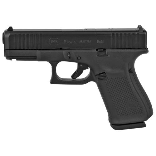 """Glock 19 Gen5 9mm 4.02"""" FS 3 15rd PA195S203MOS"""
