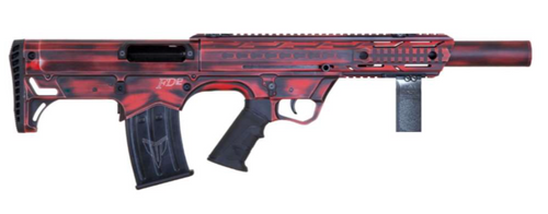 "Black Aces Pro Series Bullpup 12ga 18.5"" Distressed Red"