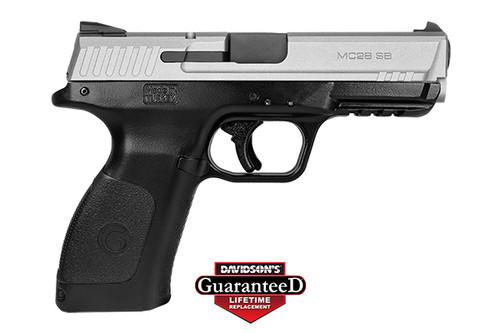 "Girsan MC28SA 9mm 4.25"" Novak 1 15rd Titanium 390105"