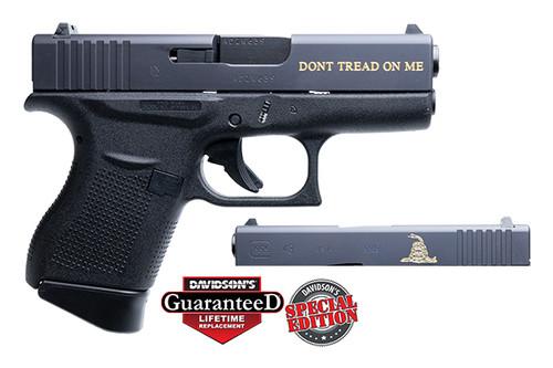 """Glock 43 Gadsden 9mm 3.39"""" 2 6rd DAV-12401"""