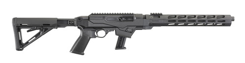 """Ruger PC Carbine 9mm 16.12"""" Fluted TB mLok MOE Stock 17rd 19122"""