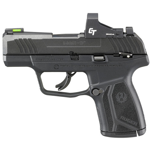 """Ruger MAX-9-CT Sub-Compact 9mm 3.2"""" 12rd CT Opt 03504"""