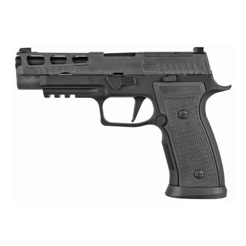 "Sig Sauer P320AXG Pro 9mm 4.7"" XRay Pro Cut 2 17rd Hogue 320AXGF-9-BXR3-PRO-R2"