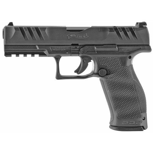 """Walther PDP FS 9mm 4"""" Adj OR 18rd 2851237"""