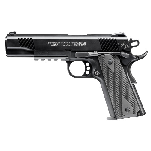 """Walther Arms Colt Government 1911 A1 22LR 5"""" Adj 12rd 5170308"""